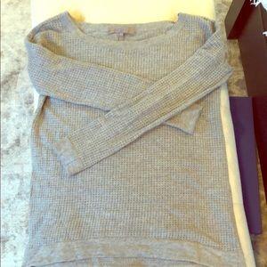Halston Heritage grey sweater -like new!